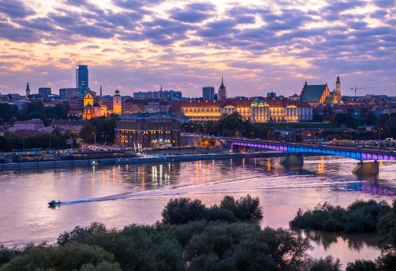 Hostel Helvetia, Varsovia, Vista a la ciudad