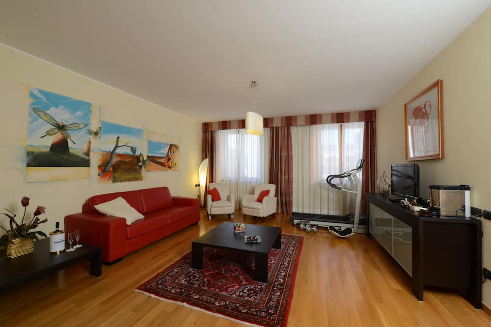 Suite junior - Zona de estar