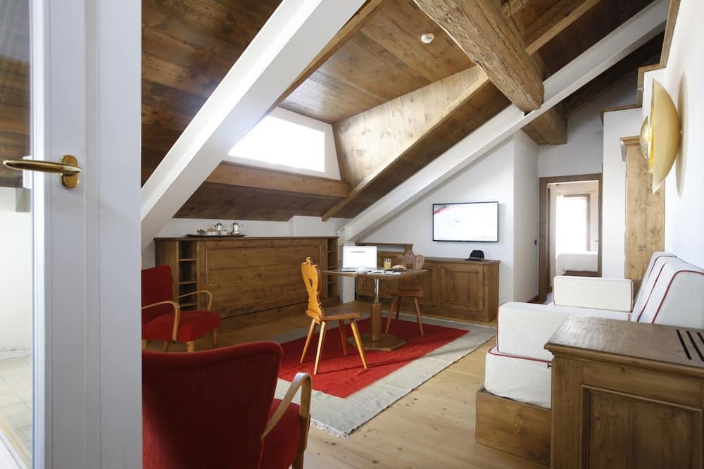 Prezidentské apartmá - Obývací prostor