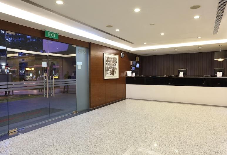 Value Hotel Balestier, Singapore, Interior Entrance