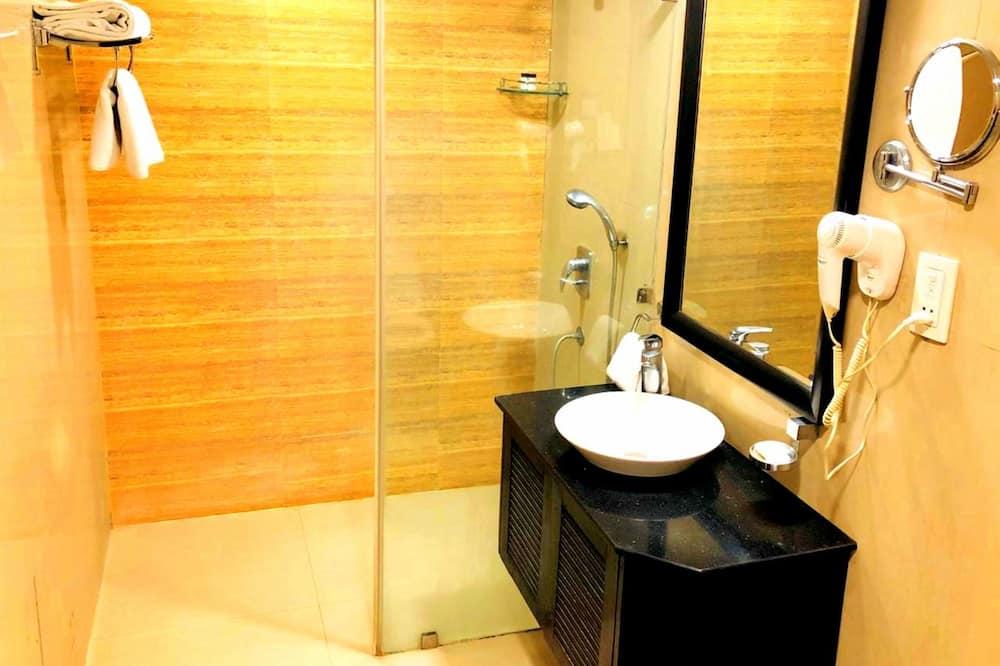 Premium-dobbeltværelse - 1 kingsize-seng - Badeværelse