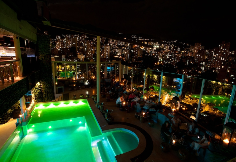 The Charlee Hotel, Medellin, Rooftop Pool