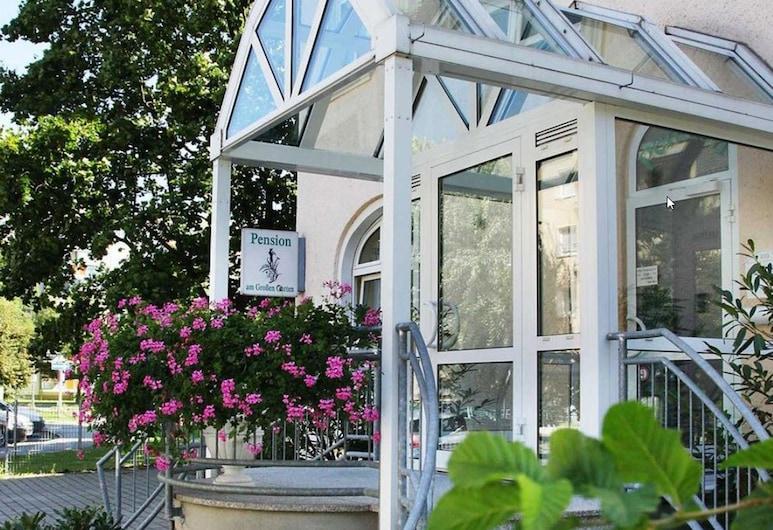 Pension am Grossen Garten, Drážďany, Záhrada