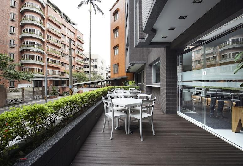 丹迪旅店 - 天母店, 台北市, 陽台