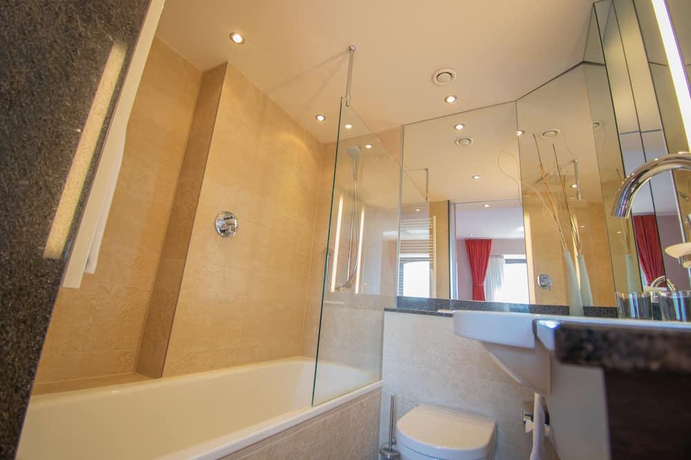 Deluxe - kahden hengen huone yhdelle - Kylpyhuone