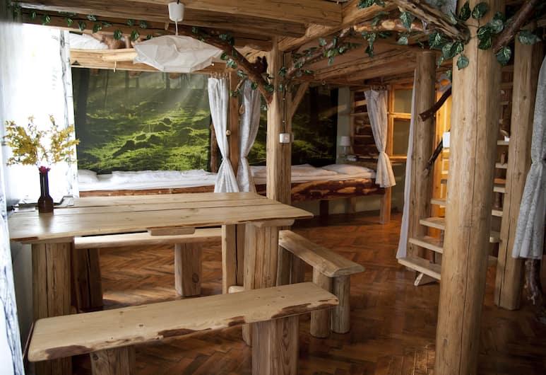 Artharmony Pension & Hostel, Praha, Bendrabutis, mišrus bendrabutis, bendras vonios kambarys, Svetainės zona