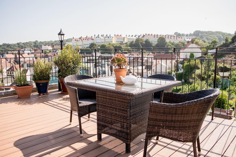 Romantický loftový byt, terasa, výhľad na more - Terasa