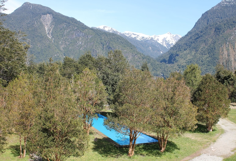 Mitico Puelo Lodge, Cochamó, Vonkajší bazén