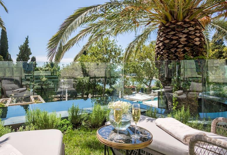 Hotel Park, Split, Dobbeltrom – superior, balkong, Gjesterom