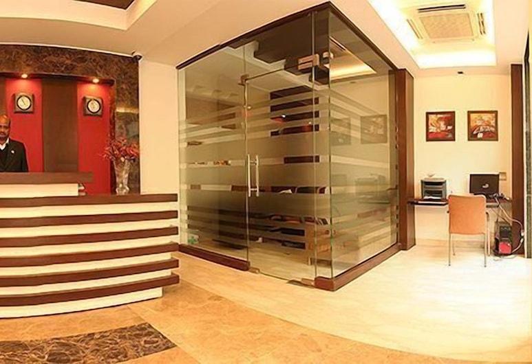 Hotel Livasa Inn, Нью-Дели, Стойка регистрации