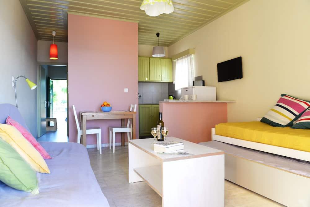 Family Bungalow, 1 Bedroom, Sea View, Sea Facing - Living Room
