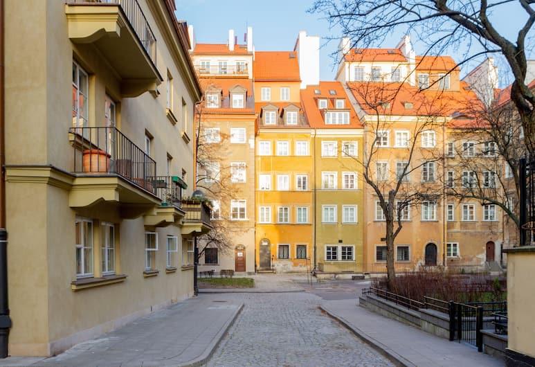 Rycerska Apartment Old Town, Warszawa, Boendets framsida