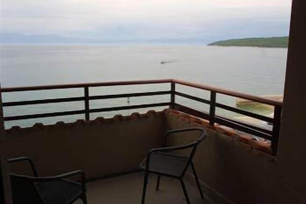 Tweepersoonskamer, voor 1 persoon, Balkon, Uitzicht op zee - Balkon