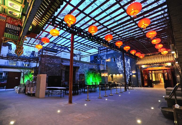 Beijing Traditional View Hotel, Peking, Terrasse/Patio