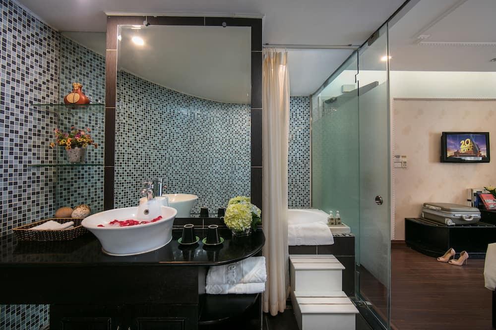 Liukso klasės kambarys, vaizdas į miestą - Vonios kambarys