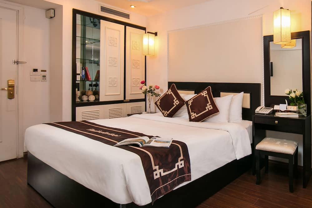 Pagerinto tipo kambarys, vaizdas į miestą - Svetainė