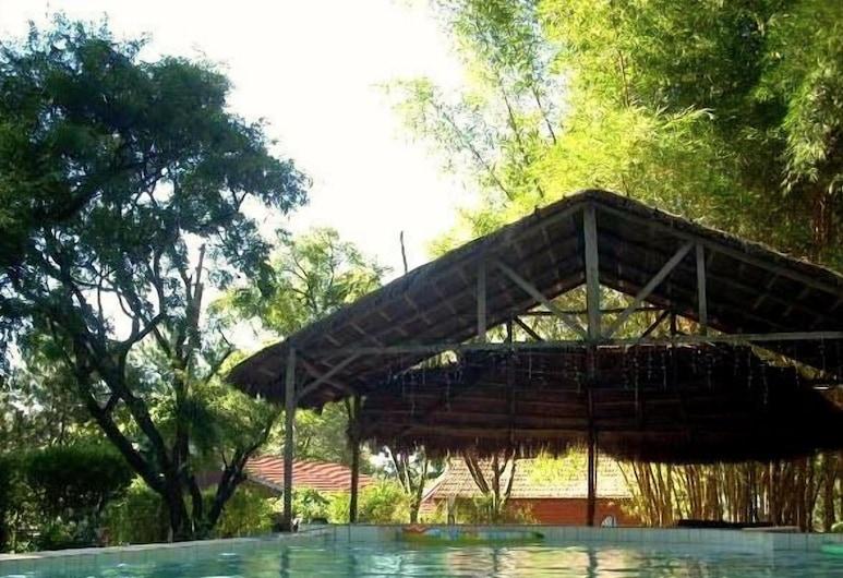 鄉村飯店, 千里達, 天然游泳池