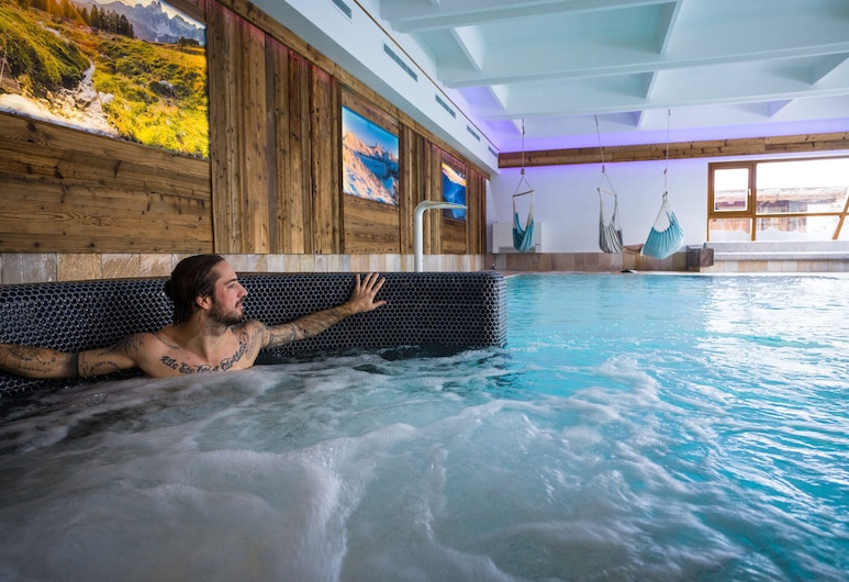 Das Falkenstein, Kaprun, Bồn tắm spa trong nhà