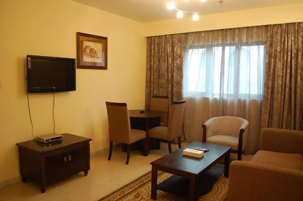 One Bedroom Apartment with 1 Double Bed - 客廳