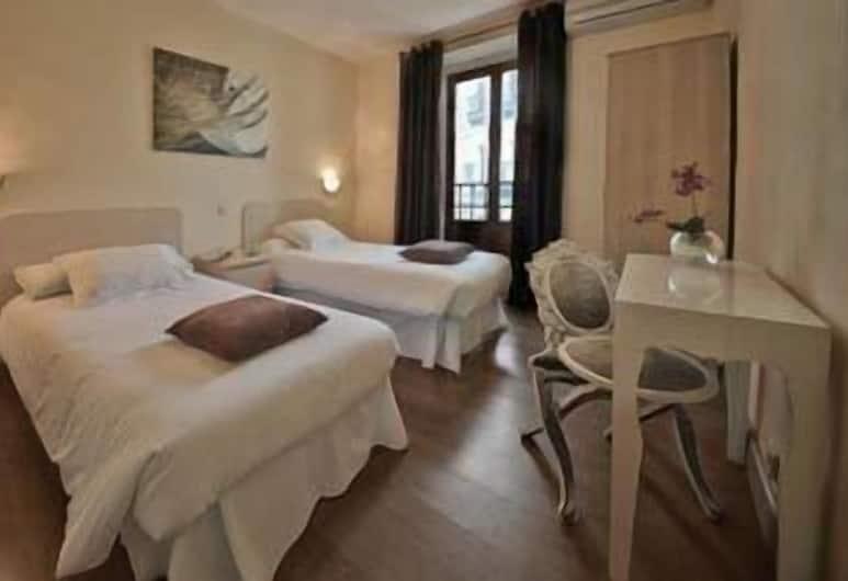THC Bergantín Hostel, Madrid, Habitación Confort con 2 camas individuales, baño privado, Habitación