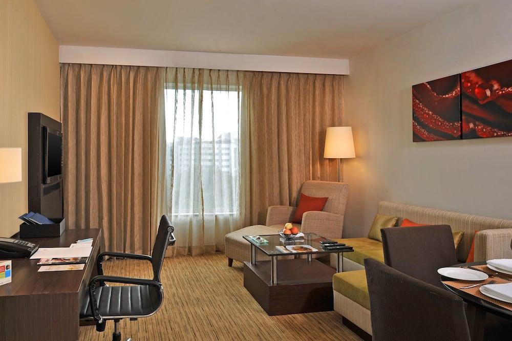 Suite ejecutiva, 1 habitación - Sala de estar