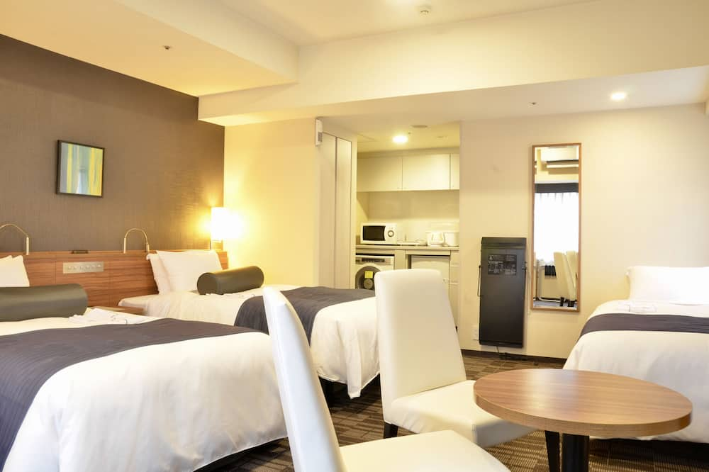 Twin Room B Non Smoking with extra bed,34sqm, 100cm Bed width - Guest Room