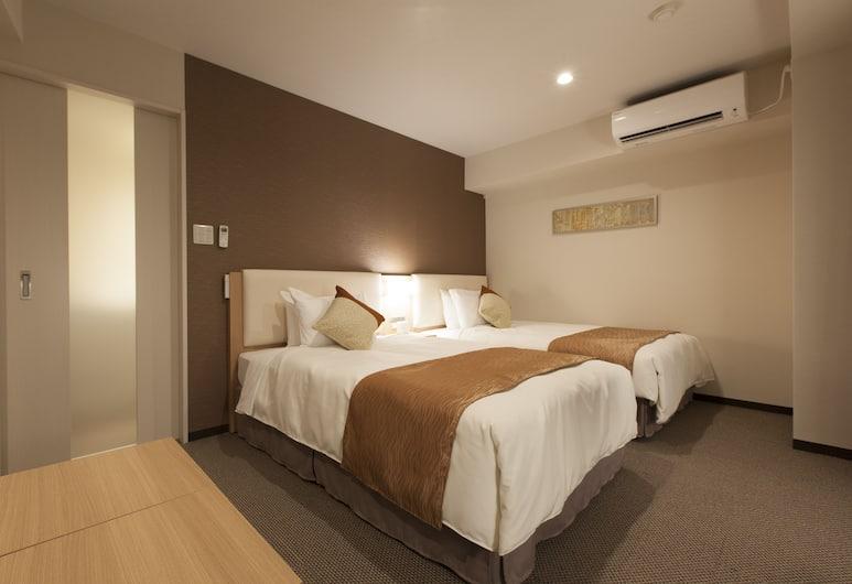 Tokyu Stay Nihombashi, טוקיו, חדר טווין, ללא עישון (30m² bed width100cm), חדר אורחים