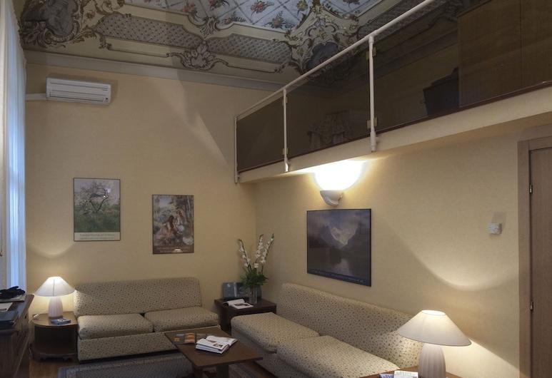 Residence Lagrange, Turin, Huoneisto, 2 makuuhuonetta, Oleskelualue