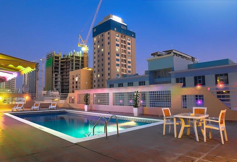 海鑽廣場公寓, 麥納麥, 天台泳池