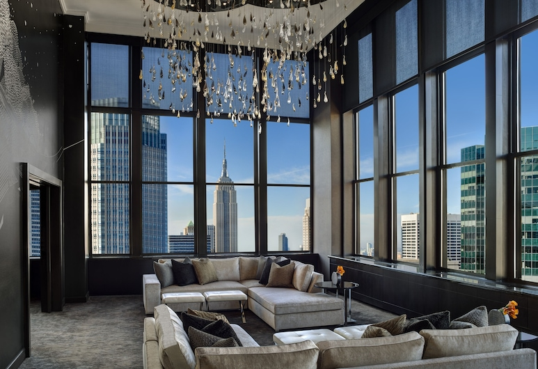 The Towers at Lotte New York Palace, New York, Penthouse Suite, Living Area
