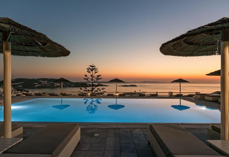 Hotel Alkyon, , Εξωτερική πισίνα