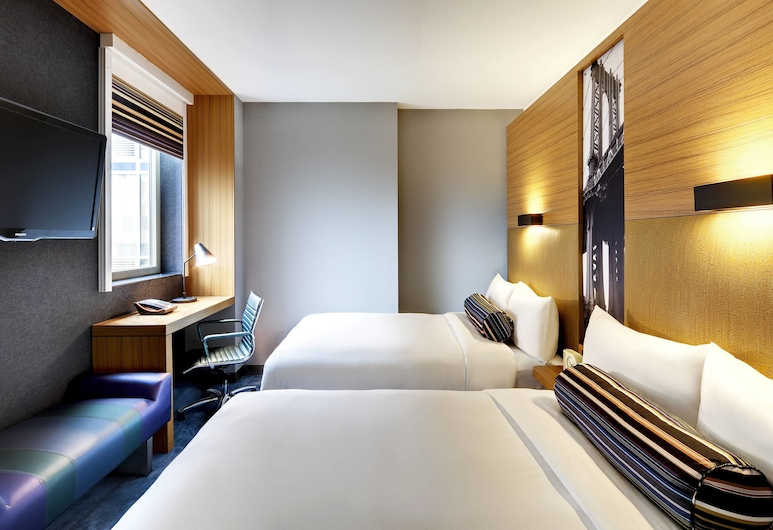 Aloft New York Brooklyn, Brooklyn, Room, 2 Double Beds, Non Smoking, Guest Room
