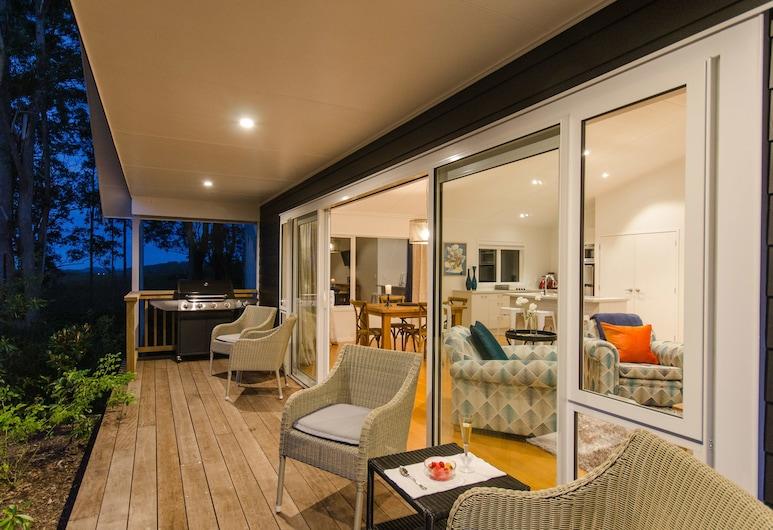 Treghan Luxury Lodge, Kerikeri, Birdsong Retreat, Terrace/Patio