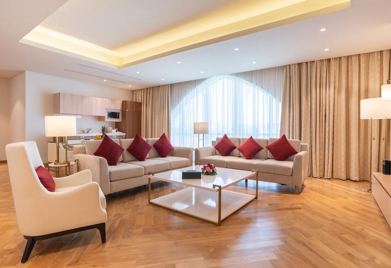 Century Hotel, Doha, Presidential-Suite, Wohnbereich
