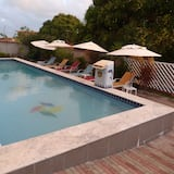 Vodopád v bazéne