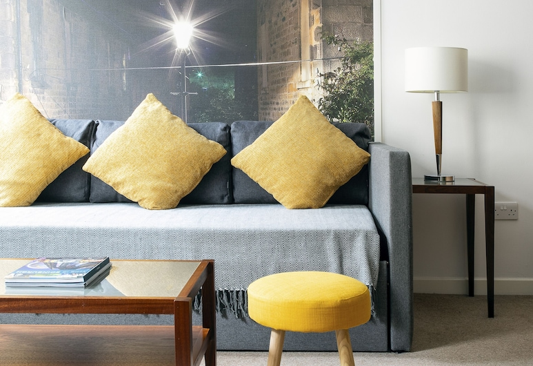 Stewart by Heeton Concept, Edinburgh, Lägenhet - 1 sovrum, Vardagsrum