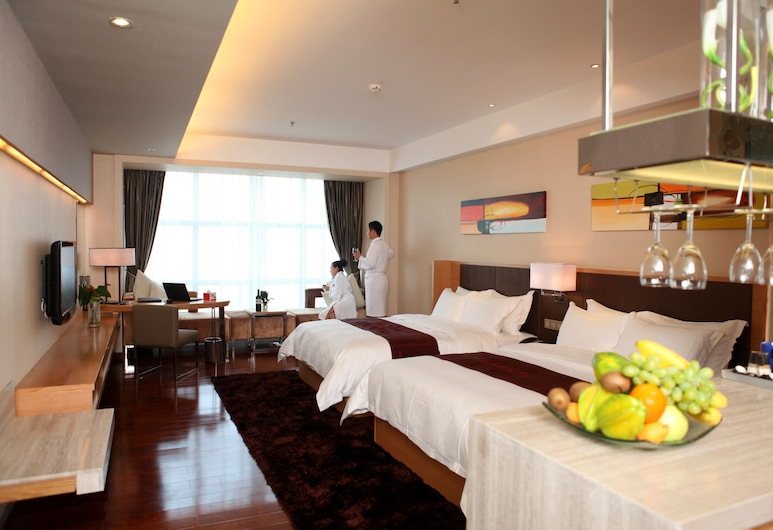 Ramada Plaza Shenzhen North, Shenzhen, Superme Deluxe Twin Room, Guest Room