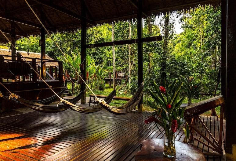 Posada Amazonas, Tambopata, Interior Entrance