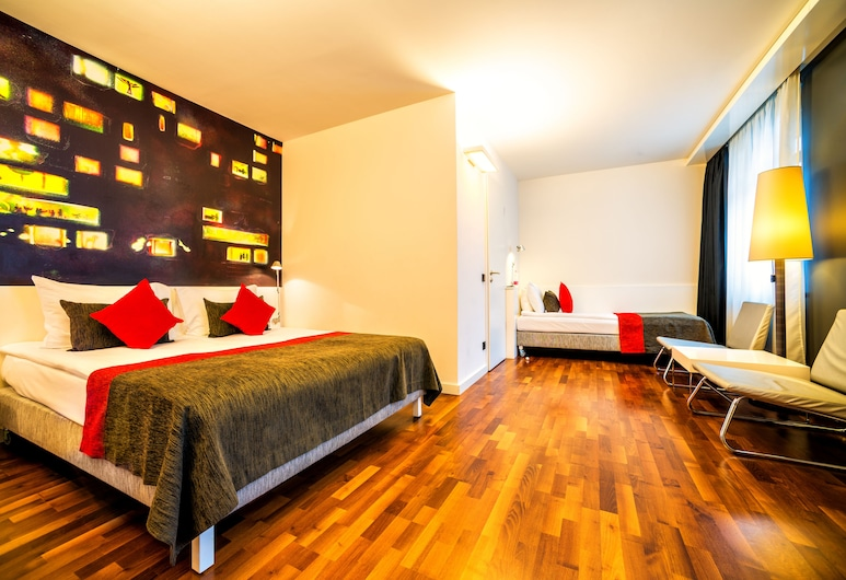 Bohem Art Hotel, Budapest, Tremannsrom – superior, Gjesterom
