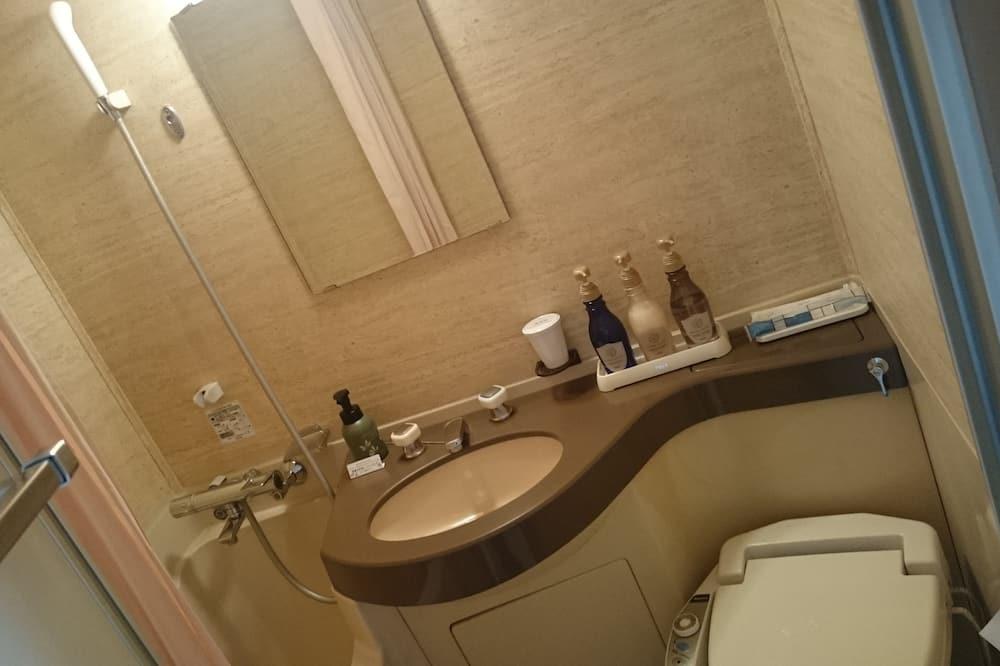 Tek Büyük Yataklı Oda, Sigara İçilebilir - Banyo