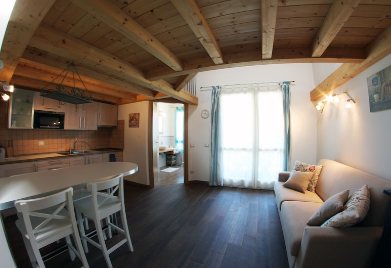 Bombyx Inn, Bergamo, Appartamento Standard (for 3 people), Area soggiorno