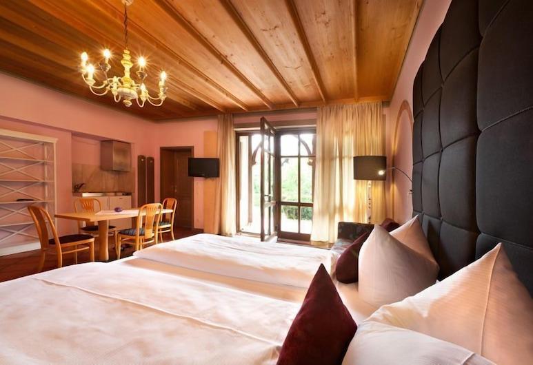 Hotel Fantasia, Füssen, Habitación cuádruple Confort, Habitación
