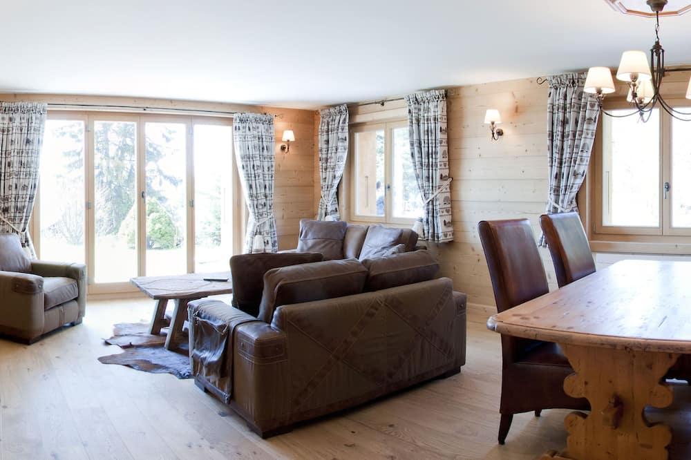 Chalet, terraza (Residence) - Sala de estar