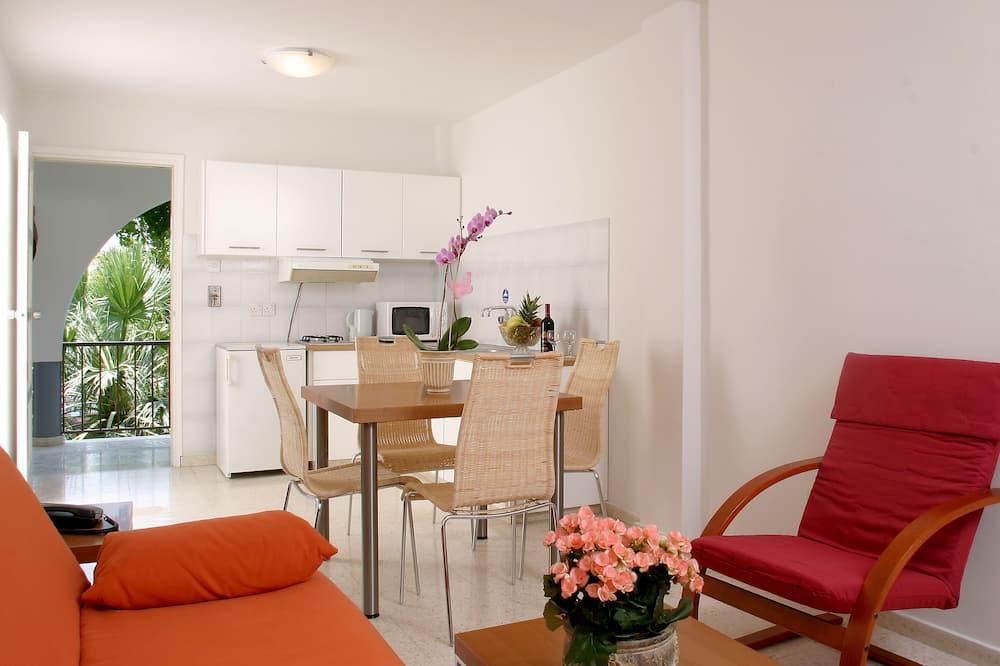 Apartmán, 1 spálňa, balkón, výhľad na hory - Stravovanie v izbe