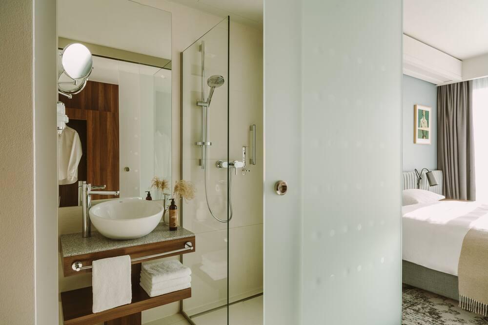 Chambre Deluxe, 1 très grand lit - Salle de bain