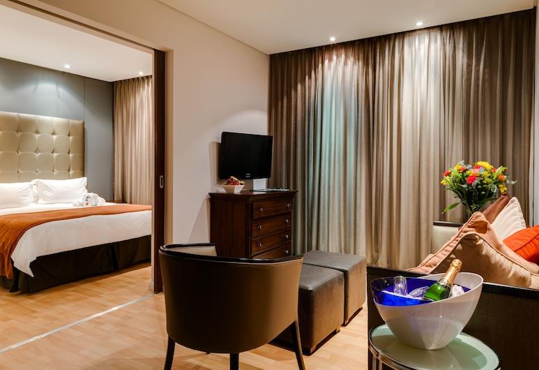 Protea Hotel by Marriott Transit O.R. Tambo Airport, Kempton Park, Izba, 1 extra veľké dvojlôžko, nefajčiarska izba, Hosťovská izba