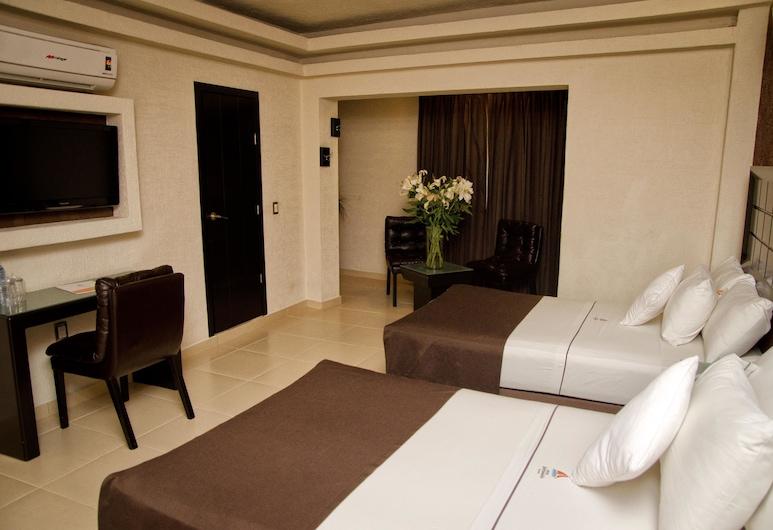 波多諾伏廣場中央飯店, 瓜達拉哈拉, Superior Doble, 客房