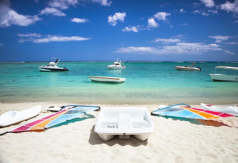 Pearle Beach Resort & Spa, Flic-en-Flac, Strand