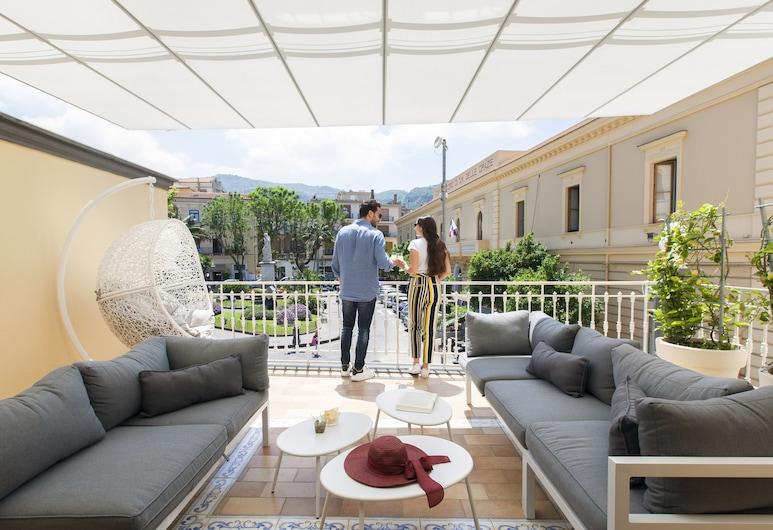 La Piazzetta Guest House, Sorrent, Superior-Apartment, Terrasse/Patio