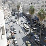 Familierom - Utsikt mot byen